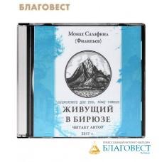 Диск (CD) Живущий в бирюзе. Аудиокнига для тех, кому тяжело. Монах Салафиил (Филипьев)