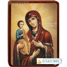 """Икона Божией Матери """"Троеручица"""" на деревянной основе"""