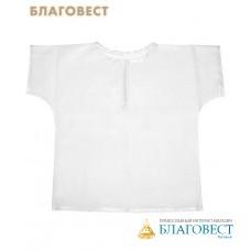Крестильная рубашка (распашонка) универсальная до 1 года