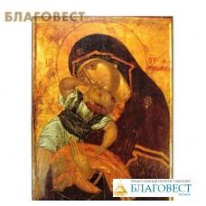 Икона Пресвятая Богородица«Взыграние Младенца» (Пелагонитисса, XIV в.)