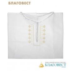 Рубашка (взрослая) для Крещения и купания в Святых источниках. Размер 48