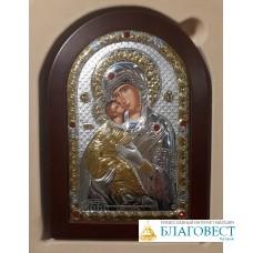 Икона Пресвятой Богородицы, им. Владимирская, 10 х 14 см. Греция.