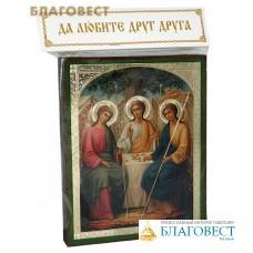 """Икона """"Святая Троица"""" аналойная малая"""