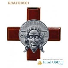 """Крест """"Спас Нерукотворный"""" олово, скотч"""