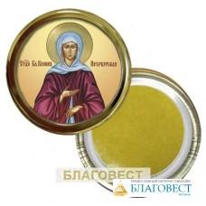 Икона Св. блж. Ксения Петербургская