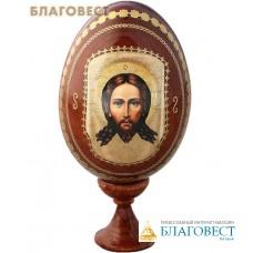 Сувенир Яйцо Спас Нерукотворный на подставке
