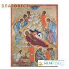 """Икона """"Рождество Иисуса Христа"""", золочение"""