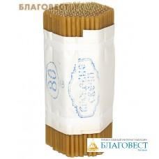 Свечи воскосодержащие (60% воска) 1 кг № 80 (200шт), диаметр 6 мм