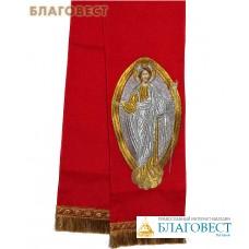 Закладка для Евангелия, красная Воскресение Христово, габардин, 150 см