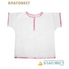 Крестильная рубашка (распашонка) для девочки до 1 года