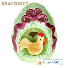 """Сувенир световой """"Яйцо с курочкой"""", цвет в ассортименте"""