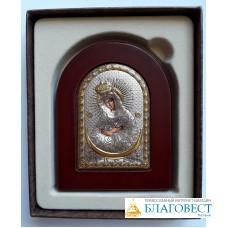 """Икона Пресвятой Богородицы """"Умиление"""", в коробочке.  7 х 10 см"""