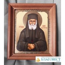 Икона Св. преподобного Паисия Святогорца, в багете. 13 х 15,5 см