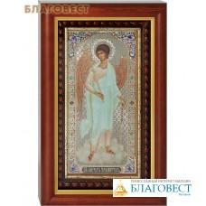 Икона Ангел-Хранитель аналойная малая. Киот, багет, стекло