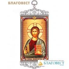 Икона-хоругвия Господь Вседержитель на подвесе