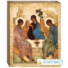 Икона Святая Троица (Андрей Рублёв)