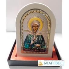 Икона Св. блаж. Мартонушка, в коробке.  10 х 14 см. Греция