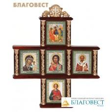Иконостас в виде креста