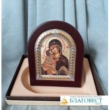 """Икона Пресвятой Богородицы, им. """"Донская"""", в коробочке. 8 х 9,5 см."""