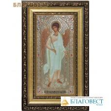 Икона Ангел Хранитель. Киот (узкий), багет, стразы, стекло