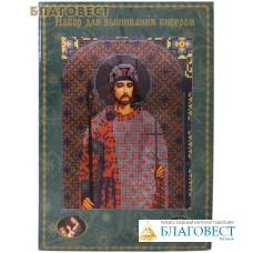 """Набор для вышивания бисером """"Святой благоверный князь Борис"""""""