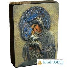 """Икона Божией Матери """"Почаевская"""" на деревянной основе"""