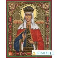 Икона Святая мученица царица Александра Феодоровна, императрица Российская, страстотерпица