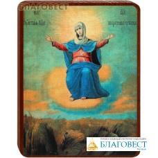 """Икона Божией Матери """"Спорительница хлебов"""" на деревянной основе"""