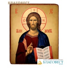 """Икона """"Господь Вседержитель"""" на деревянной основе"""