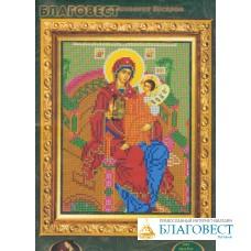 """Набор для вышивания бисером Пресвятая Богородица """"Гора Нерукосечная"""""""