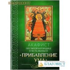 """Акафист Пресвятой Богородице в честь иконы Ее """"Прибавление ума"""""""