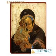 """Икона Божией Матери """"Донская"""" на деревянной основе"""