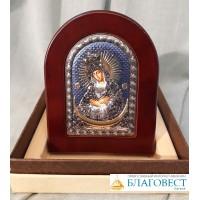 """Икона Пресвятой Богородицы, им. """"Остробрамская"""", в коробочке.  10 х14 см"""