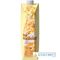 Nemoloko - Напиток овсяный ванильный. Жирность 3,2%, 1 литр