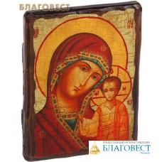 """Икона под старину Пресвятая Богородица """"Казанская"""""""