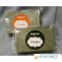 Мыло оливковое натуральное, NYSSOS Corfu, 200 гр