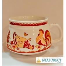 Чашка с пасхальной тематикой. Ручная работа