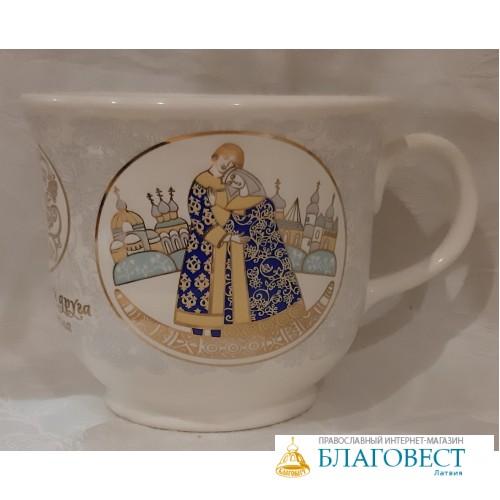 Кружка подарочная - с изображением Свв. кн. Петра и Февронии
