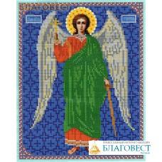 """Рисунок на ткани для вышивания бисером """"Св. Ангел Хранитель"""". Размер 240*190мм"""
