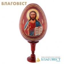 """Сувенир Яйцо на подставке икона """"Господь Вседержитель"""""""