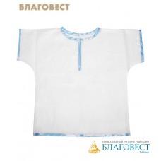 """Крестильная рубашка (распашонка) для мальчика до 1 года """"Тимошка"""""""