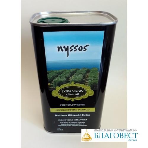Оливковое масло NYSSOS Extra Virgin, Corfu, 1 л