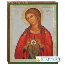 """Икона Пресвятой Богородицы """"Помощница в родах"""""""