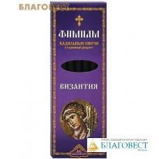 """Кадильные свечи для домашнего каждения """"Византия"""" (в наборе 7 штук, подставка прилагается)"""