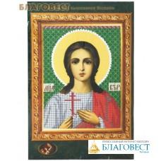 """Набор для вышивания  иконы """"Святая мученица Вера"""""""