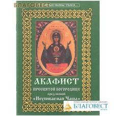 """Акафист Пресвятой Богородице перед иконой Ее """"Неупиваемая Чаша"""". В ассортименте"""