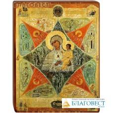 """Икона Божией Матери """"Неопалимая Купина"""" на деревянной основе"""