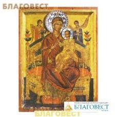 """Икона Пресвятая Богородица """"Всецарица"""""""