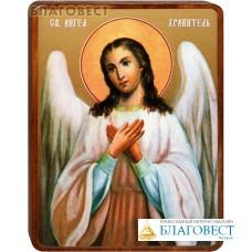 """Икона """"Ангел Хранитель"""" на деревянной основе"""