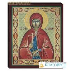 Икона святая мученица Клавдия